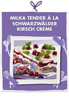 Milka Tender à la Schwarzwälder Kirsch Crème