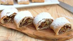 The strudel of your dreams has arrived. Flaky, filled with apples and walnuts and incredibly easy to make.