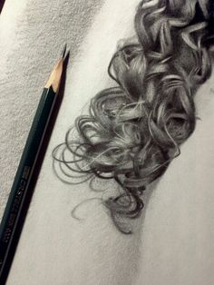 Therapy or masochism #art #drawing #hair #portraitdrawing