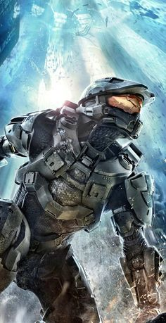 Did you know that there is such a thing as a full-size adult Halo Master Chief costume? It is amazing! And Halo 4 is an amazing game to play! Highly recommend it!