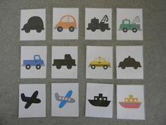 Teach Love Grow: Printable Transportation Games and Playdough Mats