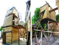 Things We Like: What Happens When Children Build Their Own Three-Story Playgrounds?    This. Is. Awesome.
