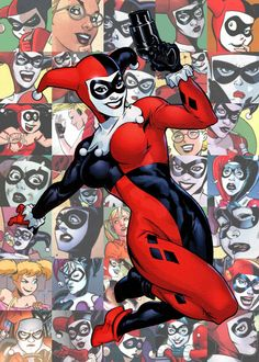 salmonypink:  The Endless List Of Comic Characters I Love  Harley Quinn (DCU)