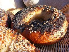 szeretetrehangoltan: Bagel Izu, Bagel, Bread, Food, Photos, Eten, Bakeries, Meals, Breads