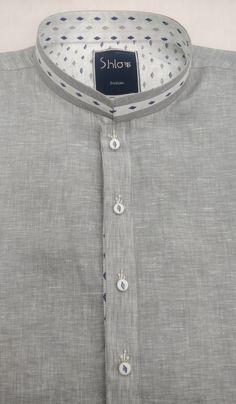 Punjabi Kurta Pajama Men, Kurta Men, Latest Kurta Designs, Mens Kurta Designs, Designer Suits For Men, Designer Clothes For Men, Mens Shalwar Kameez, Boys Kurta Design, Banded Collar Shirts