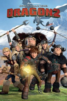 How to train your Dragon 2 - Cast Print | AllPosters.com
