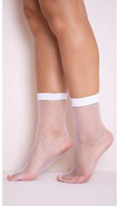 Leg Avenue Women's Fishnet Anklets, White, O/S, Size: One size Black Thigh High Socks, Ankle High Socks, Nylons, In Pantyhose, Silk Underwear, Lingerie Silk, Cosy Socks, Lace Socks, Cotton Socks