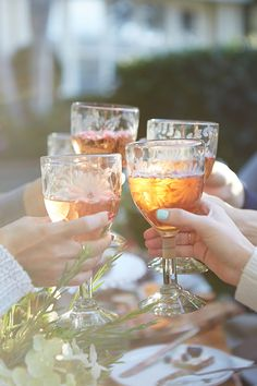Cheers to the perfect girls luncheon!