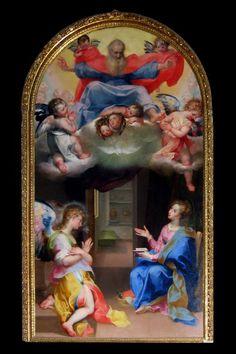 Francesco Vanni, Annunciazione, Santa Maria dei Servi