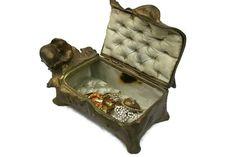 Art nouveau jewelry box   https://www.etsy.com/listing/163573523/french-antique-art-nouveau-jewelry-box