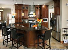 Home design home and arches on pinterest for 2 level kitchen island