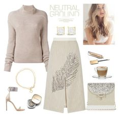 """Neutral Ground"" by rever-de-paris ❤ liked on Polyvore featuring Astley Clarke, Betsey Johnson, Rick Owens, Tory Burch, Stuart Weitzman, Monsoon, Burberry, Dolce&Gabbana, neutrals and contestentry"