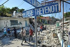 this is a pic of when of Haiti street