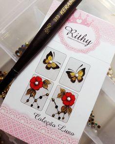 Ahhhh eu amei demais  #sem_disponibilidade_para_encomenda  #NailArt #NailDesing #unhasDecoradas #AdesivosdeUnha #FeitasnoPincel #EuAmo Nails Inspiration, Nail Art, Stickers, Photo And Video, Instagram, Design, Nail Stickers, Nail Jewels, Nail Ideas