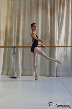 Ballet...her turn out is amazing