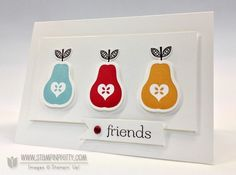 Crisp & Colorful Perfectly Preserved Pairs - Stampin' Up! Demonstrator - Mary Fish, Stampin' Pretty Blog, Stampin' Up! Card Ideas & Tutorials