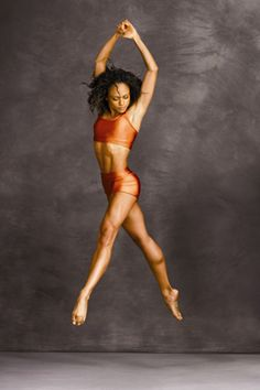 Dance strength...it'd be awesome to be in that kind of shape :)