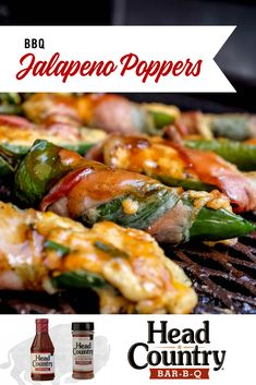 BBQ Jalapeno Poppers make for a spicy bbq food for a football game. Whether you serve them as pre-game appetizer or a mid-game snack these bbq jalapeno poppers are sure to be loved. Grilled Vegetable Recipes, Grilled Vegetables, Healthy Snacks To Make, Bbq Food, Appetizers For Party, Green Beans, Meal Prep, Spicy