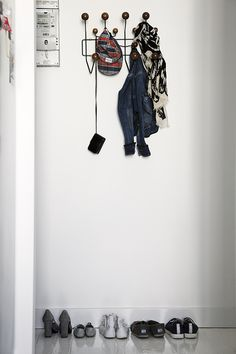 #replica #eames #hangitall coat rack wall hook, from #sokol