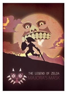 legend of zelda Majora's mask, I would say would be my number 3 out of my top 10 favorite games.