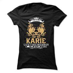 KARIE . Team KARIE Lifetime member Legend - T Shirt, Hoodie, Hoodies, Year,Name, Birthday - #make your own tee shirt design. KARIE . Team KARIE Lifetime member Legend - T Shirt, Hoodie, Hoodies, Year,Name, Birthday, cheap mens zip up hoodies,best hoodie jacket. WANT => https://www.sunfrog.com/LifeStyle/KARIE-Team-KARIE-Lifetime-member-Legend--T-Shirt-Hoodie-Hoodies-YearName-Birthday-66838920-Ladies.html?id=67911