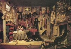 { Canvas Prints } Cornelius Krieghoff // Officer's Trophy Room in Montreal, 1846 Canvas Print - Buy Commonwealth, Winnipeg Art Gallery, Eskimo, Oil On Canvas, Canvas Prints, Royal Ontario Museum, Fur Trade, Historical Art, Cornelius