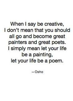 beautiful, I know so many creative souls