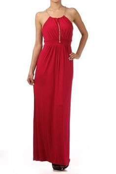 $27. Sale ends August 12th at 9 pm PT. Maxi Dress With Chained Straps