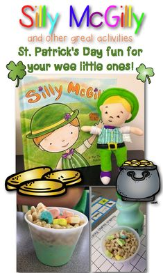 St. Patrick's Day Fun for Your Wee Little Ones I know St. Patrick's Day is still a while away, but I just love the holiday so much I could...