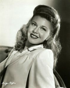 Ginger Rogers (Born: Virginia Katherine McMath - July 16, 1911 - Independence, MO, USA; Died: April 25, 1995 - Rancho Mirage, CA, USA)