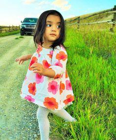 Running in the farm