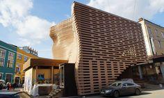 The House on the Roof Showroom at Artplay, men Goglev. #interdema #showroom #ontheroof #design #ecofriendly #Almaty #дизайн #шоурум