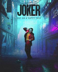 Joker Art Collection to Put a Smile on Your Face - The Designest New Joker Movie, Joker Film, Joker Batman, Gotham Batman, Batman Art, Batman Robin, Joker Iphone Wallpaper, Joker Wallpapers, Dc Comics