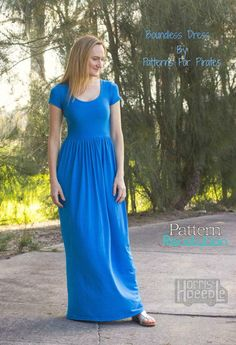 The Boundless Knit Dress by Patterns for Pirates — Pattern Revolution