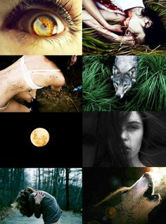 lips worked over her jaw, down her neck. He pressed them hotly against her scars. Her need pulsed behind her eyelids, called out with every beat that brought her blood pounding through her veins, calling to him. Witch Aesthetic, Aesthetic Collage, Dark Fantasy, Fantasy Art, Female Werewolves, Photocollage, Jolie Photo, Ring Verlobung, Mythical Creatures