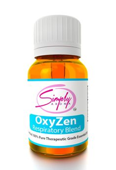 OxyZen is our special blend to improve your respiratory health. This perfect combination of oils can ease breathing for many respiratory conditions.  http://simplyaroma.com/ashleyb