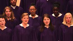 """St. Olaf Choir - """"What Wondrous Love"""" - Southern Harmony, arr. Robert Sc..."""
