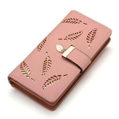 6431fcd474 Women Wallet Leather Card Coin Holder Money Clip Long Phone Clutch Bag –  intothea Moedas