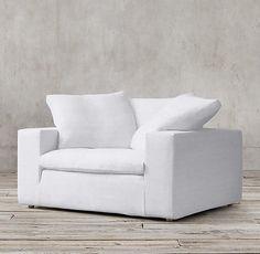 Cloud Track Arm Fabric Chair