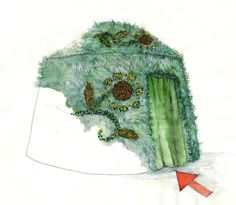 Nemeth Hajnal Aurora: Yurt: greensward with flowers like a Hungarian embroidery pattern 2012 Apocalypse Project, Pannonhalma Hungarian Embroidery, The Visitors, Apocalypse, Embroidery Patterns, Aurora, Folk Art, Flowers, Painting, Projects