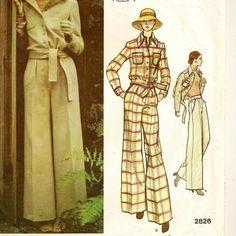 Vogue Anne Klein Jacket & Pants Pattern by SoSewSome, $6.00