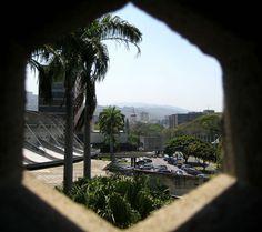 Vista Iglesia de San Pedro desde rectorado UCV-Caracas