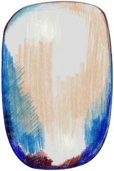 Scribble Blue Grey Beige vloerkleed   Moooi Carpets