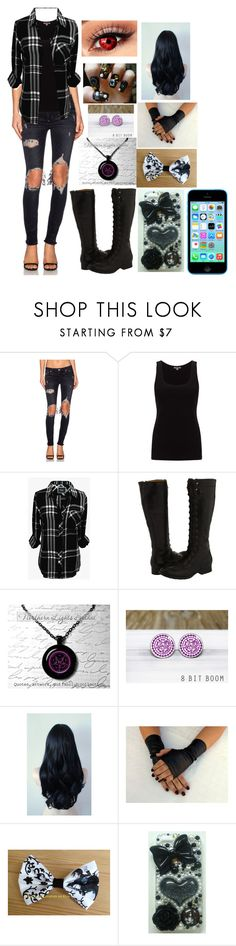 """Amber"" by kiara-fleming ❤ liked on Polyvore featuring Lovers + Friends, Jigsaw, Rails, Frye, Sebastian Professional and Universal"