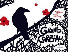 Un corbeau voudrait être rouge, jaune, vert ou argent, oiseau des îles ou de paradis. Mais rien à faire, il est noir. Il lui faudrait un sorcier pour être transformé en perroquet. C'est alors qu'il rencontre un poète : sous les flocons blancs de l'hiver, celui-ci lui révèle la beauté du noir qui fait chanter les autres couleurs...