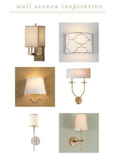 Wall sconces.....upper left in particular