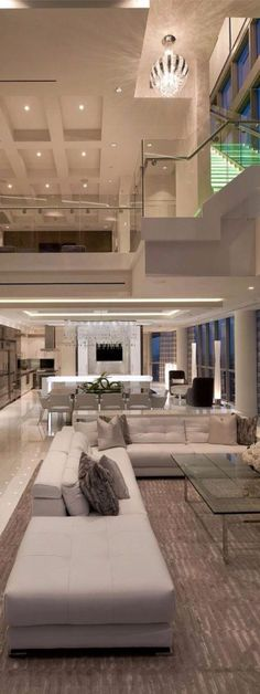 The ideal modern interior design for lovers of sleek interiors