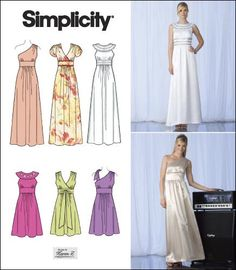 b0de27069245 Purchase Simplicity 2692 Misses Special Occasion Dresses and read its  pattern reviews. Find other Formalwear