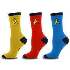 Star Trek Socks