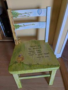 Winnie the Pooh chair for a friend.